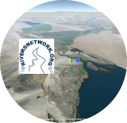 Fly 3D: Lakes of the lower Turgay and Irgiz (Ramsar ID 108)